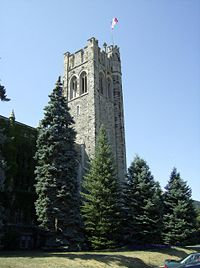 Middlesex Memorial Tower, University College, UWO