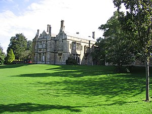 Wills Hall - Downside House, now the Warden's lodgings