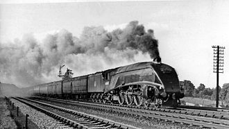 LNER Class A4 - 60009 Union of South Africa in 1951