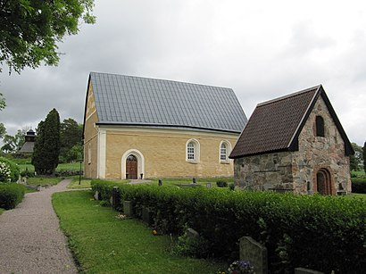 How To Get To Uppsala Nas Kyrka In Stockholm By Bus Or Train
