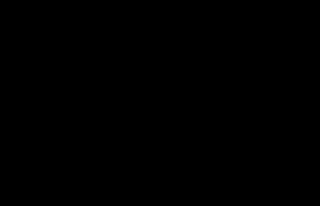 Schéma molekuly močoviny