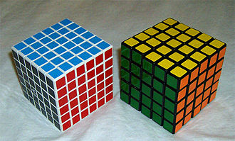 V-Cube 6 - The V-Cube 6 is roughly the same size as the official Professor's Cube.