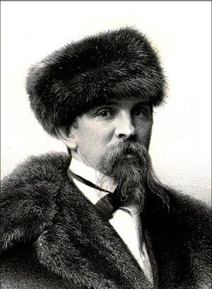 Vasily Khudyakov - Vasily Khudyakov; from the Russian Art Folio (1861)