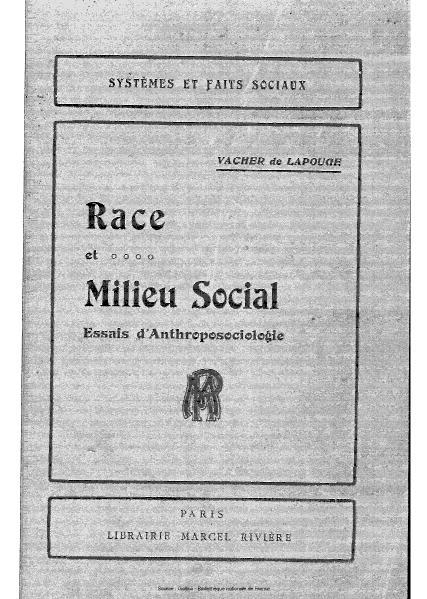 File:Vacher de Lapouge - Race et milieu social.djvu