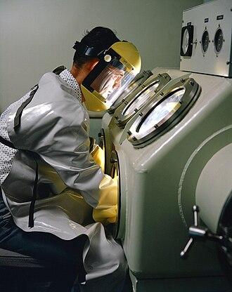 Glovebox - Image: Vacuum Dry Box