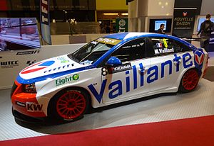 Michel Vaillant - Alain Menu's Vaillant color Chevrolet Cruze 1.6T.