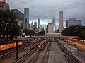 Van Buren Street station from bridge.jpg