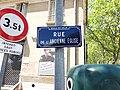 Vaulx-en-Velin - Rue de l'Ancienne Église, plaque.jpg