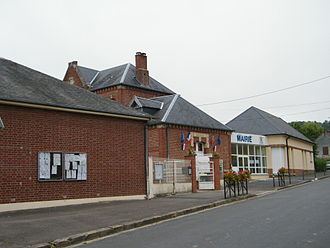 Vaux-sur-Somme - The town hall in Vaux-sur-Somme