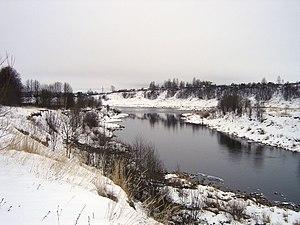 Vazuza River - The Vazuza near Zubtsov