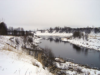 Vazuza River - The Vazuza near Zubtsov