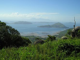 Palm Island, Queensland - View of nearby islands from Mount Bently, Palm Island