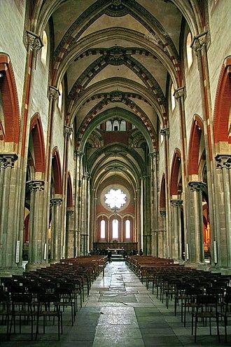 Basilica di Sant'Andrea - Interior.