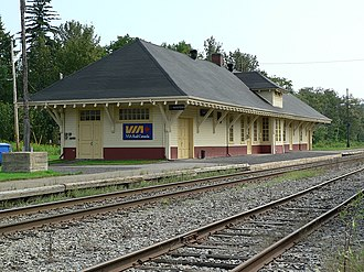Matapedia Valley - Railway station in Matapedia