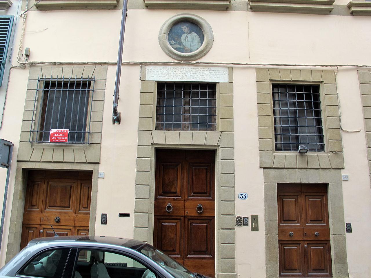 File via della pergola 41 casa dell 39 arte della lana 11 targa san luigi gonzaga su via alfani 01 - Arte della casa ...