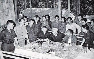 Lê Đức Thọ - Image: Vietnamese Leadership Plans 1975 Offensive