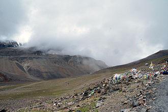 Bara-lacha la - View of Bara-lacha La