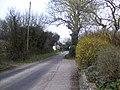 View down Enmill Lane close to Enmill Farm - geograph.org.uk - 1775935.jpg