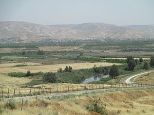 Yardena - Image: View from Yardena on Jorden river and valley