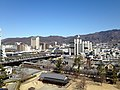 View from site of Kofu Castle (Northwest).JPG