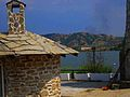 View from the building stone house by the Mladost lake.JPG