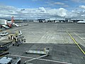 View from waiting area in Glasgow International Airport 02.jpg