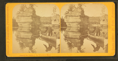 View in the Dalles of the Wisconsin River, by Zimmerman, Charles A., 1844-1909 3.png