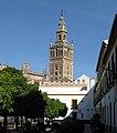 View of Giralda from Patio de Banderas, Seville.jpg