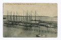 View of Water Front at Mariners(sic) Harbor, Staten Island, N.Y. (approx. 6 tall ships at dock) (NYPL b15279351-105156).tiff