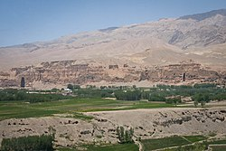 View of the site of Buddahs in central Afghanistan.jpg