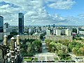 Views of Warsaw from Palace of Culture and Science, Warsaw, Poland, 2019.jpg