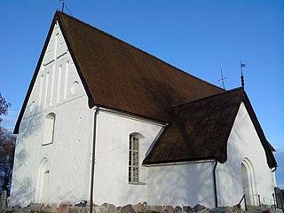 Viksta Church church building in Uppsala Municipality, Sweden
