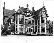 Villa Vorster in Marienburg bei Kön Architekt Otto March, Tafel 8, Kick Jahrgang II.jpg