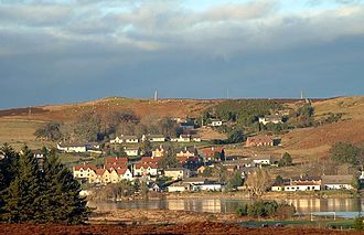 Lairg - Image: Village of Lairg in the Highlands