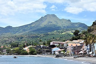 Mount Pelée Active volcano on the Caribbean island of Martinique