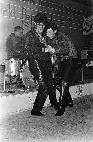 Bobbie Clarke - Image: Vince Taylor 1963