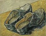 Vincent van Gogh - A pair of leather clogs - Google Art Project.jpg