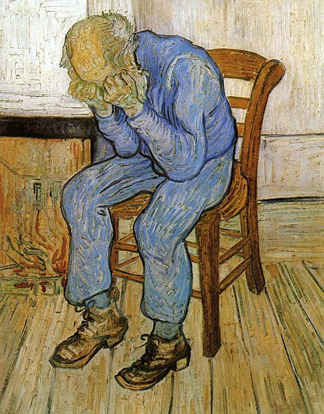File:Vincent van Gogh - Old Man in Sorrow (On the Threshold of Eternity).jpg