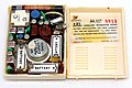 Vintage Motorola Transistor Radio (Inside View), Model X21, AM Band, 6 Transistors, Made In USA, Circa 1960 (46683976784).jpg