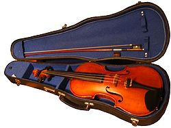 Violin - Simple English Wikipedia, the free encyclopedia