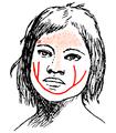 Visar ansiktsmålning och tatuering9.png