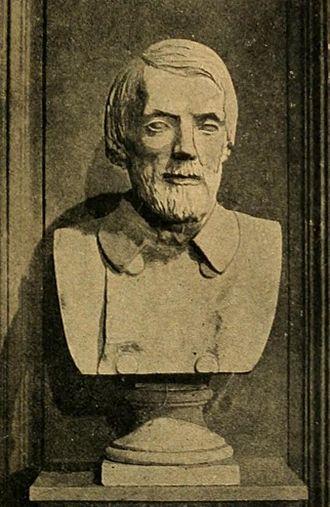 Vissarion Belinsky - A bust of Belinsky