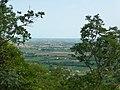 Vista sud castello di Caneva.jpg