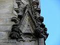 Vitré (35) Église Notre-Dame Façade sud 2ème contrefort 01.JPG