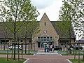Voorzijde N.M.B.S.-station Knokke, Maurice-Lippensplein 26, Knokke (Knokke-Heist).JPG
