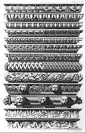 Bildtafel 1 der Vorbilder für Fabrikanten und Handwerker (Quelle: Wikimedia)