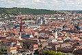 Würzburg, Festung Marienberg, Blick auf die Altstadt -- 2018 -- 0325.jpg