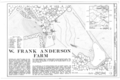 W. Frank Anderson Farm, County Road 239, Ruckersville, Elbert County, GA HABS GA,53-RUCK.V,3- (sheet 1 of 1).png