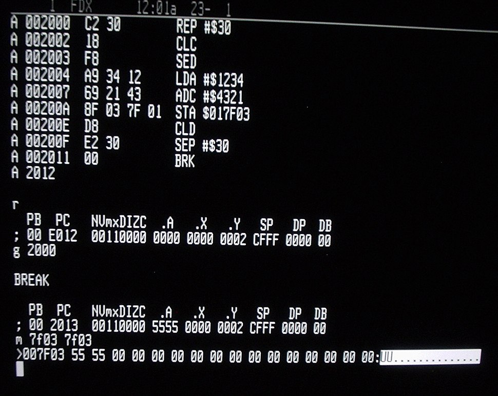 W65C816S Machine Code Monitor.jpeg