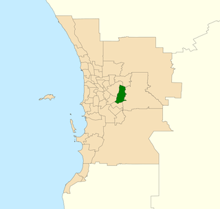 Electoral district of Forrestfield State electoral district in Perth, Western Australia